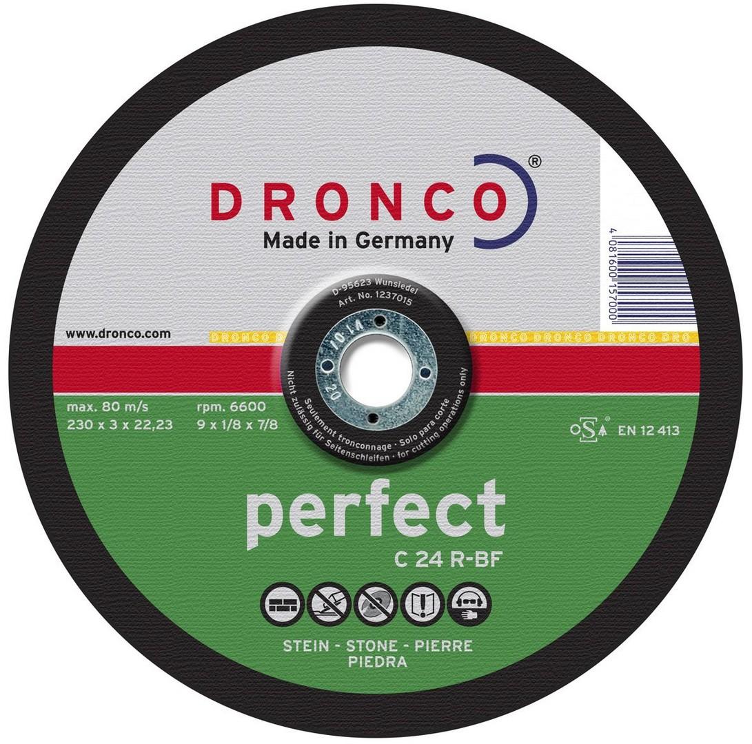 Dronco Stone Cutting Disc DPC - 230 x 3 x 22.23mm