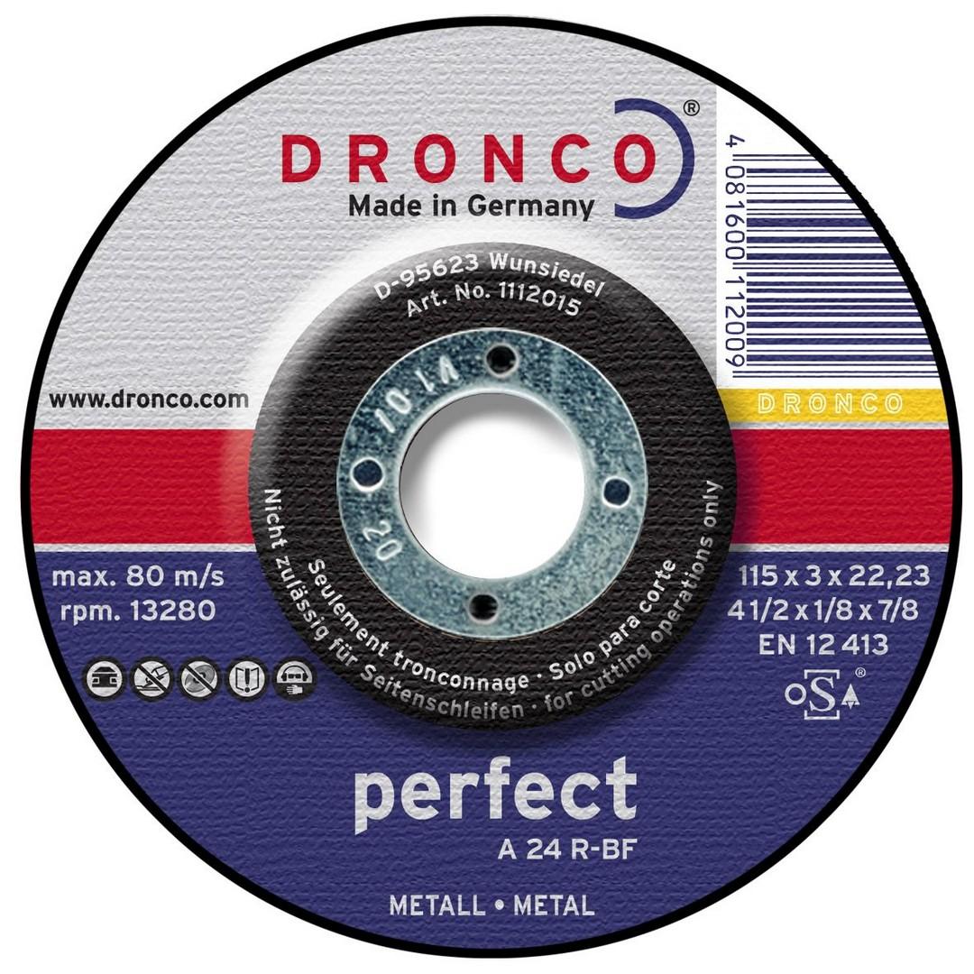 Dronco Metal Cutting Disc DPC - 100 x 3 x 16mm