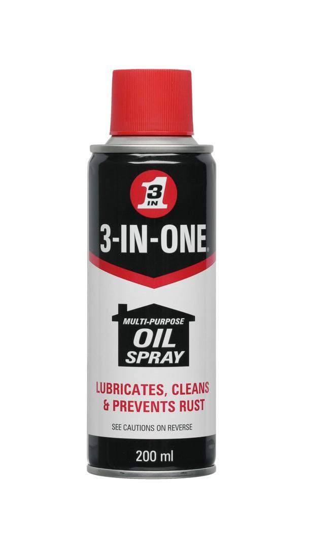 3-In-One Multi-Purpose Oil Spray 200ml Aerosol - Box Of 12