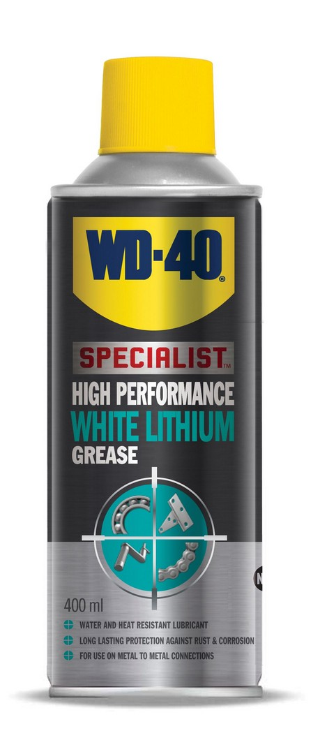 WD-40 Specialist White Lithium Grease 400ml - Box Of 12