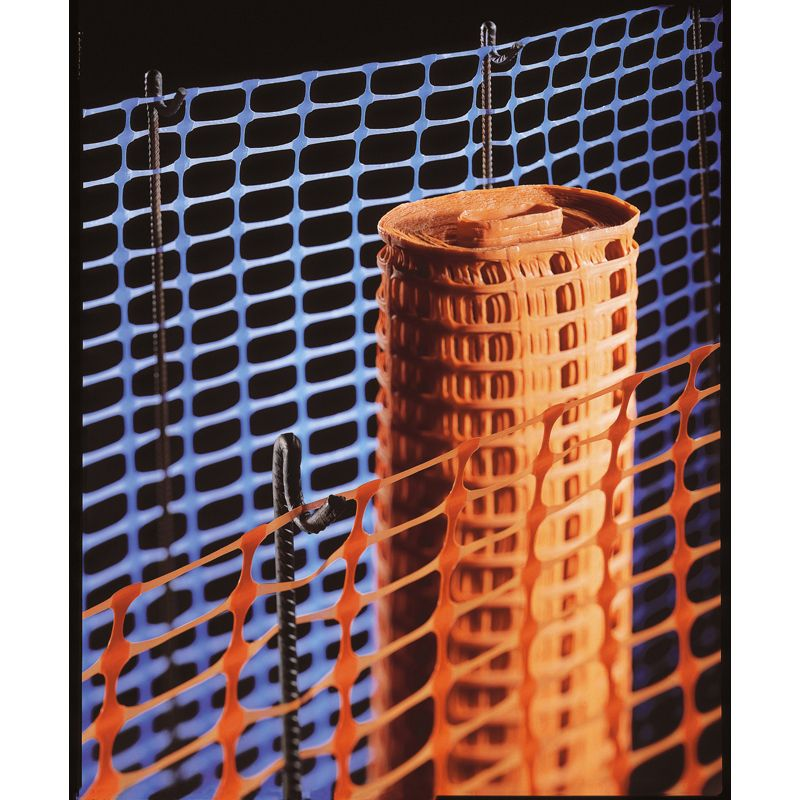 Heavy Duty Barrier Fencing - Orange 50m