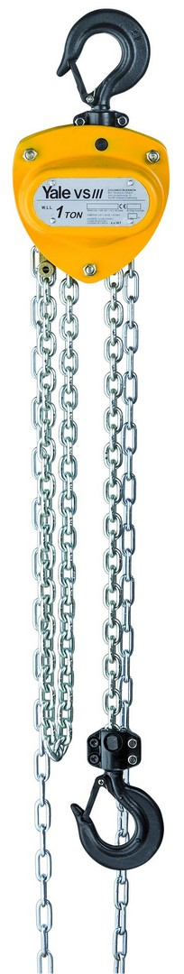 Yale VS+ Hand Chain Hoist 3t x 3m HOL