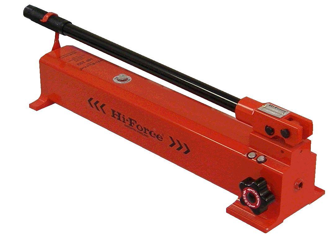 Two-Speed Hydraulic Hand Pump - 2.3L Reservoir