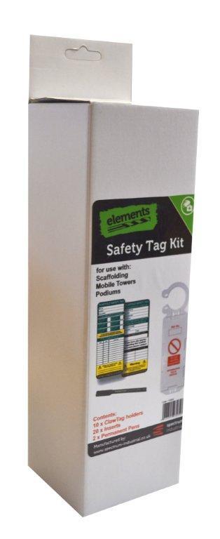 Scaffolding Safety Tag Kit
