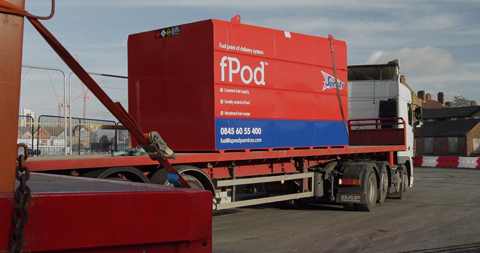 Bunded Fuel Tank 18000ltr - fPod®