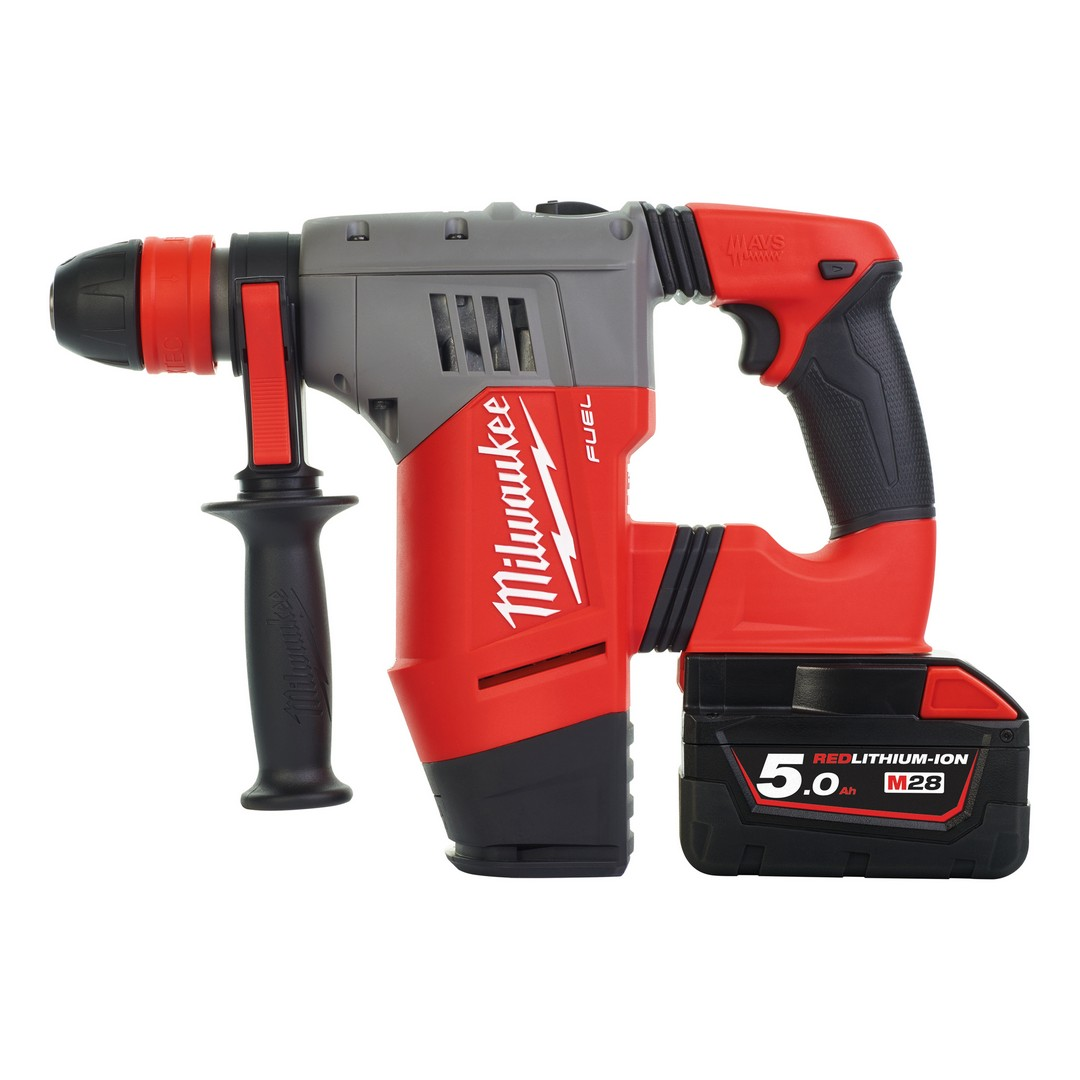 Milwaukee M28 CHPX-502C Heavy Duty SDS Cordless Hammer