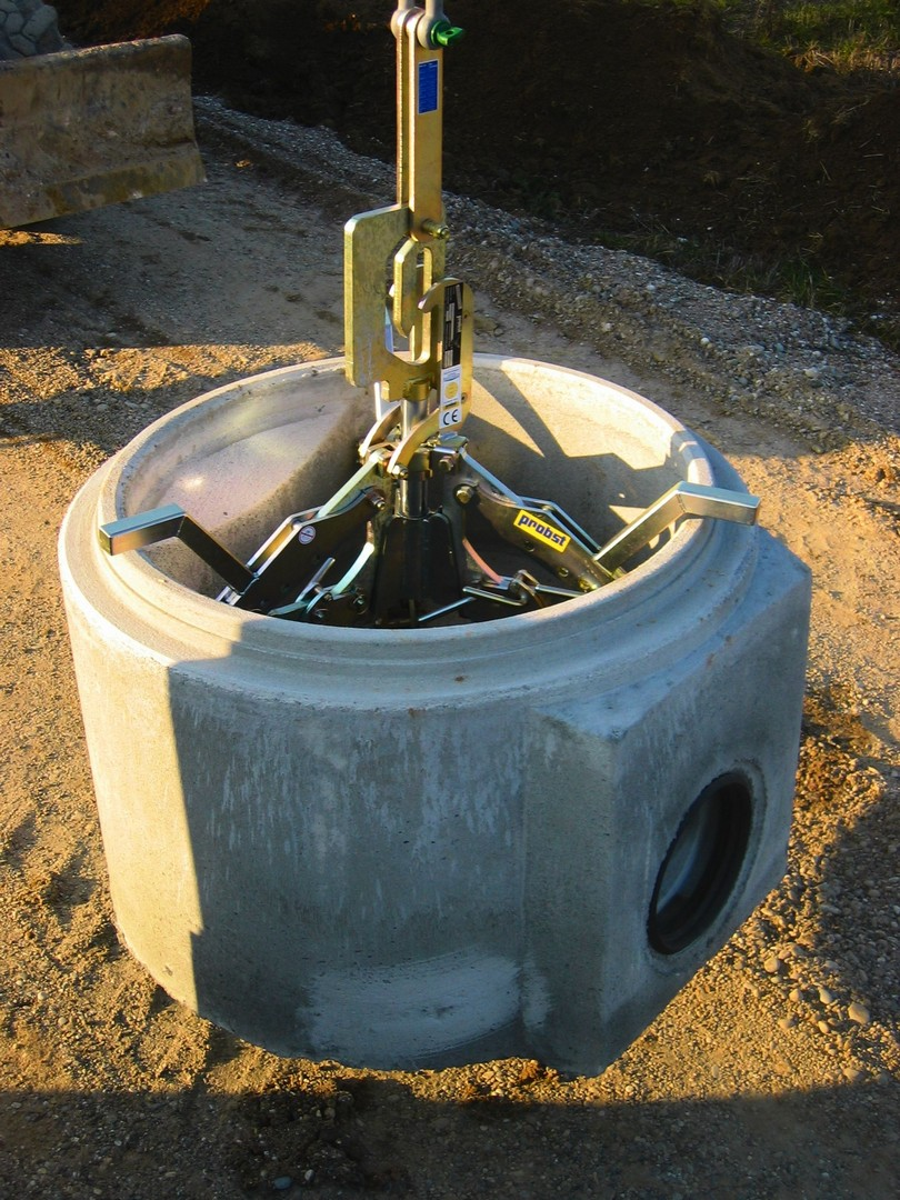 Manhole Ring Lifter 800 - 2500mm 3t SWL